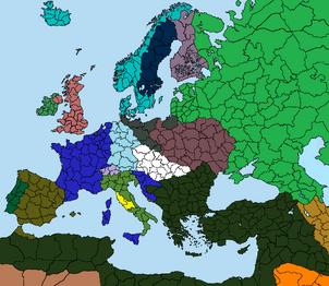 Mapa Zwycięstwo Napoleona