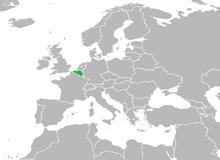 Mapa de Bélgica (MNI)
