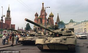 Tanks in Moscow