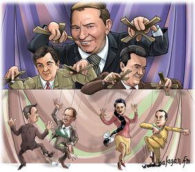 Карикатура на Кучму