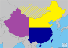 Map of Manchuria (French Brazil)