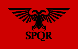 Roman Flag ERE