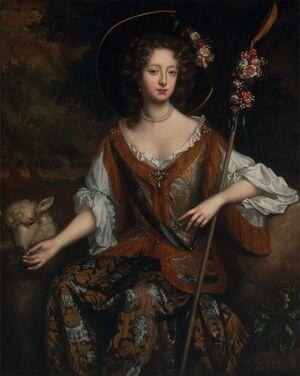 Willem Wissing - Elizabeth Jones, Countess of Kildare - Google Art Project