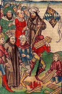Ludwig III. und Hieronymus von Prag