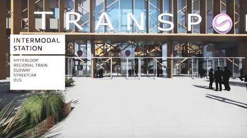 TransPod- Hyperloop Station Design