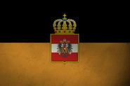 Weiser Kaiser Kaiserliche Österreichische Flagge
