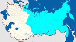 Осваиваемые территории (МРГ)