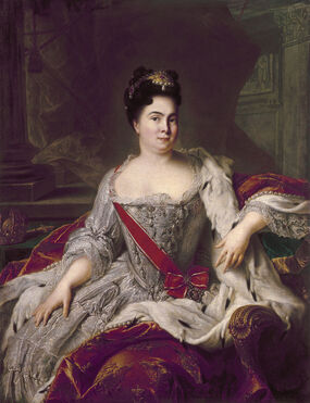 800px-Catherine I of Russia by Nattier