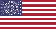 American flag 118 stars