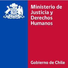 Logo del Ministerio de Justicia y DDHH de Chile