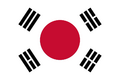 Korea Japan flag