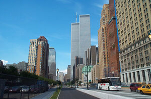 WTC-looking north