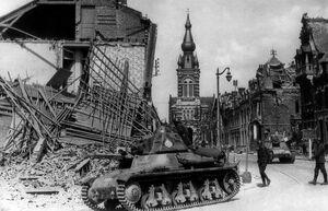 Наступление Фр.танков