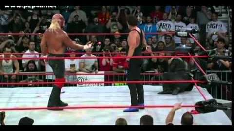 Hulk Hogan's Face Turn At Bound For Glory '11