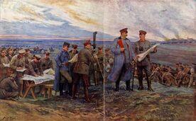 Гинденбург на линии обороны