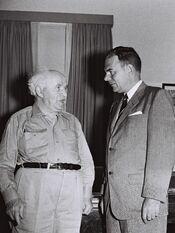 Ben Gurion - Thomas E Dewey 1955