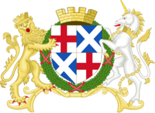 Coat of arms of the Commonwealth of Great Britain