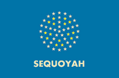 Flag of Sequoyah (New World Democracy)