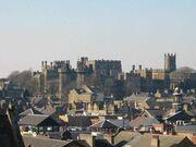 Lancaster Castle skyline a