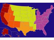Map Of America 1989 War