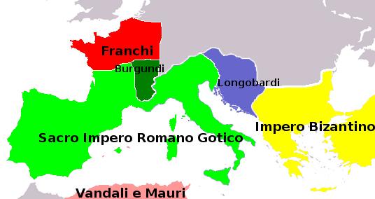 532 sacro impero gotico