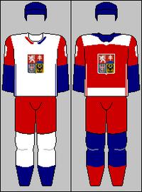 Czechoslovakia ice hockey jerseys 2016 (WFAC)