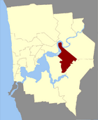 Map of Victoria County