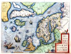 Abraham Ortelius Nordmeer Theat orb terr 1573