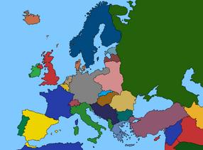 Post-WW2 Europe
