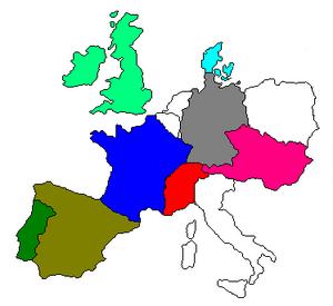 Swiss Confederation Map