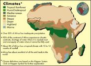Location of Mali Empire (Climate)