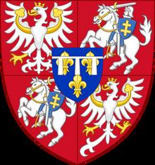 Герб Сезара де Бурбона