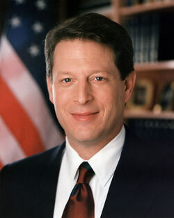 Al Gore, Vice President of the United States, official portrait 1994