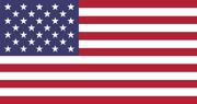 Bandera Estados Unidos 32 estrellas