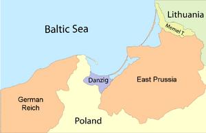 East Prussia Borderlines