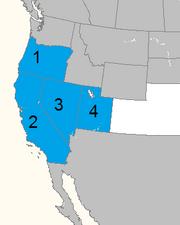 Estados de california