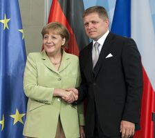 Fico and Merkel (MGS)