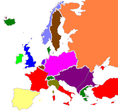 Image - Map of Europe 1940.PNG | Alternative History | FANDOM ...