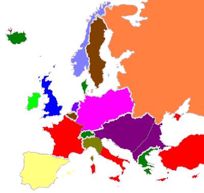 Image  Map of Europe 1940PNG  Alternative History  FANDOM