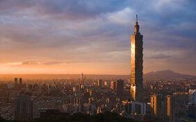 World Taiwan Tower skyscraper Taipei 101 022311