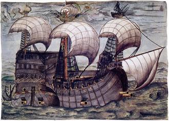 Германский корабль