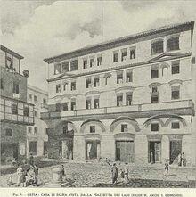 477px-Insula reconstrustion. Casa di Diana. Gismondi
