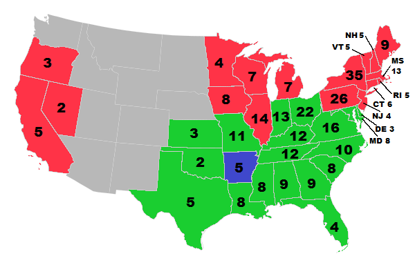 1864 US presidential election Just a Few More Years Alternative