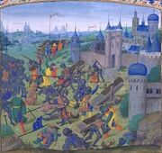 Nicopol final battle 1398