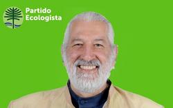 Afiche Alfredo Sfeir, Partido Ecologista (CNS)