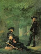 Kersting - Auf Vorposten 1815