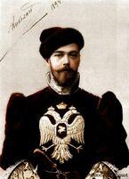 Николай II в цвете