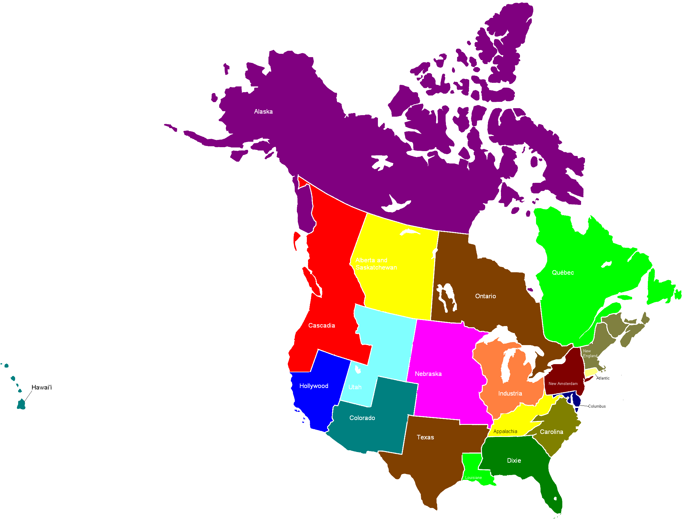 blankmap usa states canada provincespng