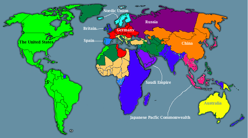 Image   800px Post War On Terror World Map.png | Alternative