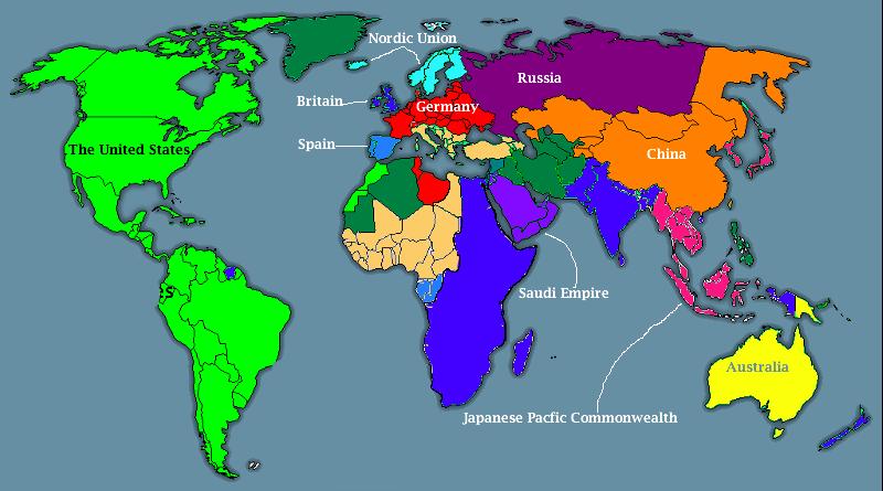 Image PxPost War On Terror World Mappng Alternative - Current world map